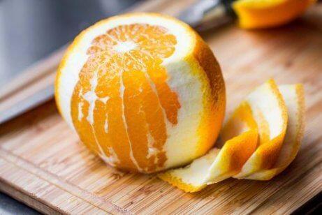 Apelsin verkar smärtlindrande