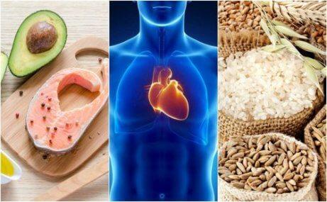 6 matvanor för att få ett friskare hjärta