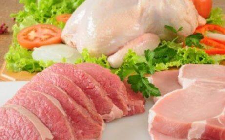 Ät magert kött