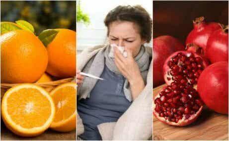 Hur man kan undvika influensan med 8 livsmedel