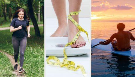 Vilka är de bästa övningarna för att gå ned i vikt?