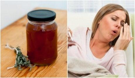 Gör en egen hostmedicin på timjan och lakrits