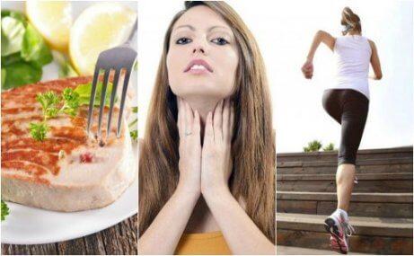 6 hälsotips för att förbättra sköldkörtelfunktionen