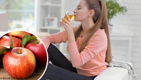 8 fördelar med att dricka äppeljuice