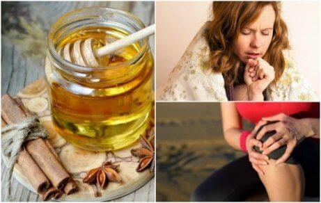 De 8 främsta fördelarna med kanel och honung