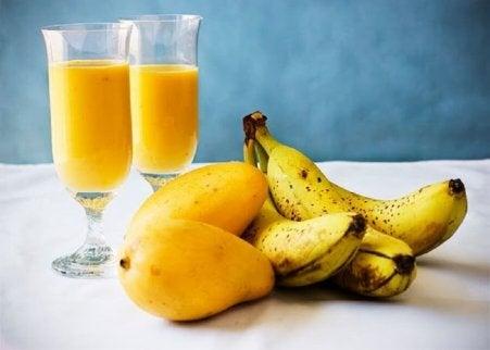Frukt- och grönsakssmoothie