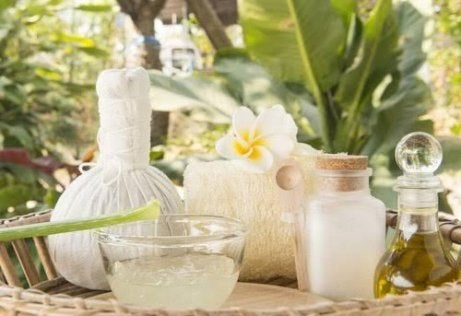 Hårbehandling med aloe vera