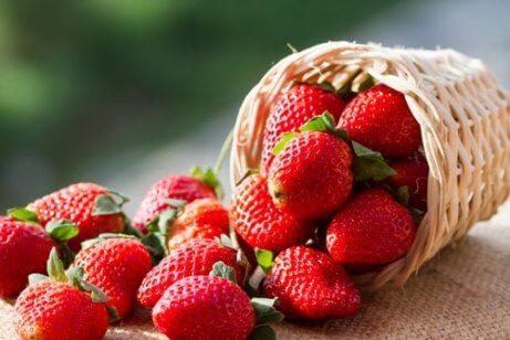 Jordgubbar-är-antiinflammatoriska