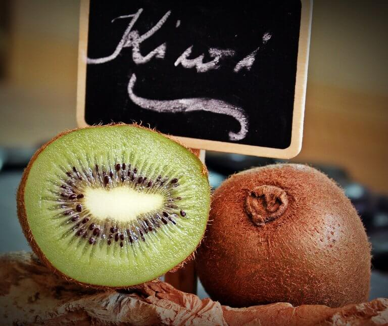 Kiwi är fiberrika