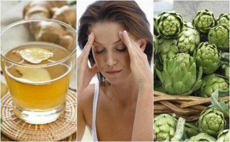 5 naturliga kurer för migrän som lindrar smärtan