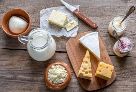 Mejeriprodukter kan förvärra smärtan