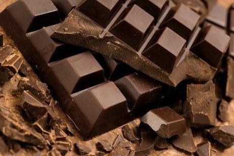 Mörk choklad för hjärthälsa