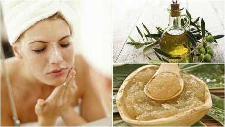 5 behandlingar med olivolja för huden