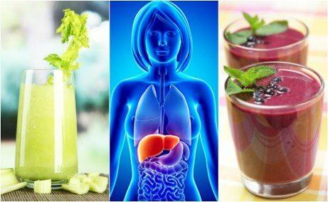 Optimera din lever med 4 frukt- & grönsakssmoothies