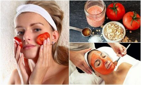 5 skönhetsbehandlingar med tomat