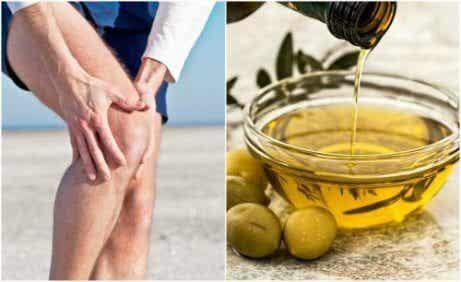 Lindra ledsmärta med citronskal och olivolja