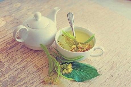 Te på lindblomma