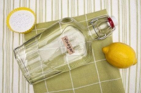 Vitvinsvinäger och citron