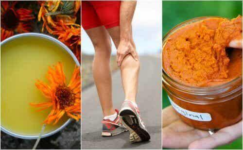 3 antiinflammatoriska krämer som lugnar musklerna