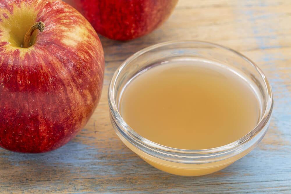 Behandla ringorm med äppelcidervinäger