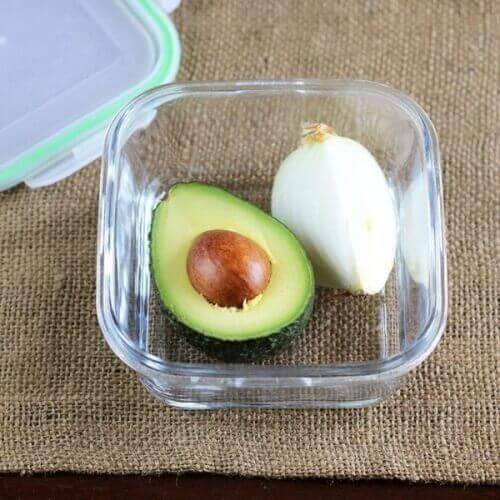 Avokado i skål
