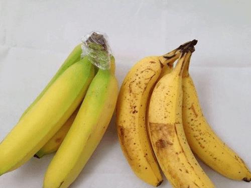 Bananer med plast