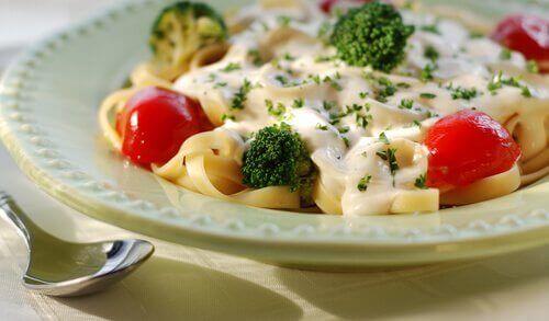 Fettuccine med broccoli