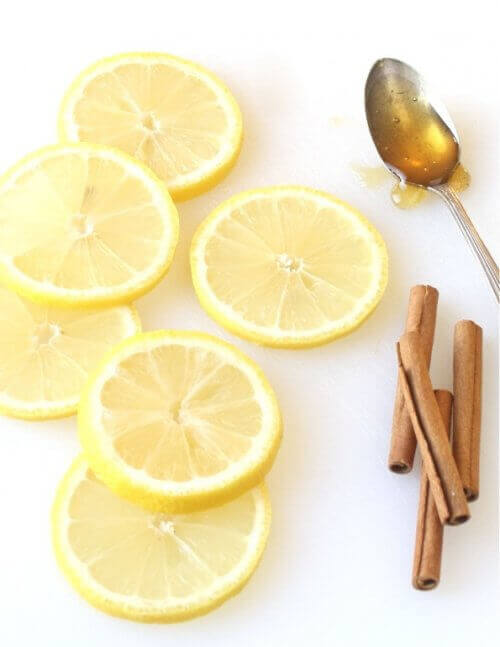 Citron och kanelstänger