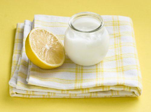 Citron och yoghurt