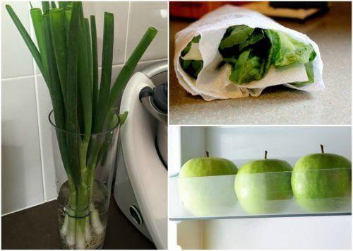 9 trick för att hjälpa dig hålla maten färsk längre