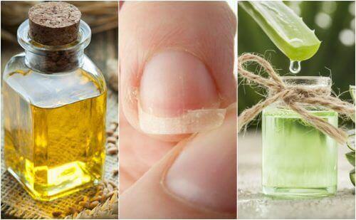 5 naturliga huskurer för att fixa svaga naglar