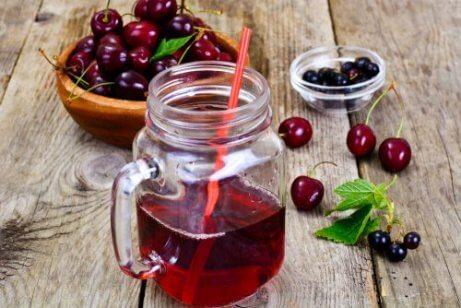 Körsbär är bra för att motverka muskelkramp