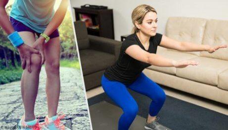 5 enkla tips och övningar för starka knän