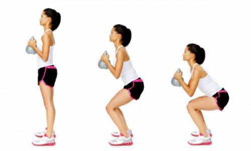 Gör knäböjningar på rätt sätt: 4 rekommendationer