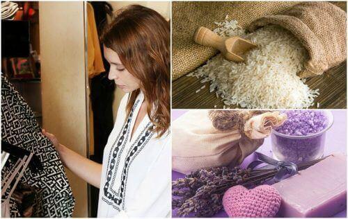 7 tips för att bli av med lukter i garderoben