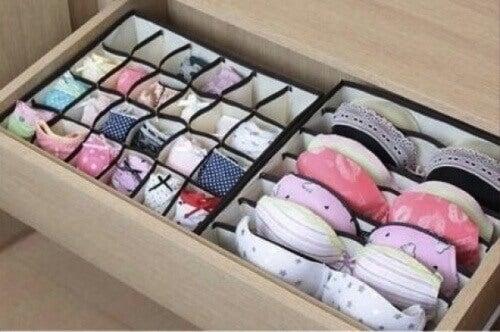 Låda för underkläder