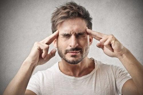 Hjärndimma kan vara ett symptom