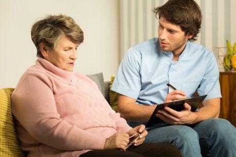 Lewykroppsdemens är en typ av demenssjukdom.
