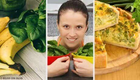 5 näringsrika spenaträtter att njuta av varje dag