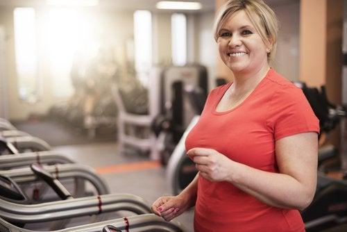 Träning på gym