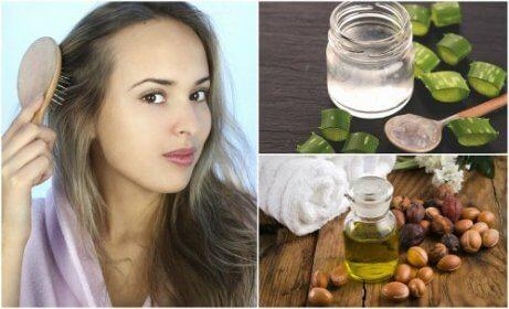 5 naturliga behandlingar mot håravfall