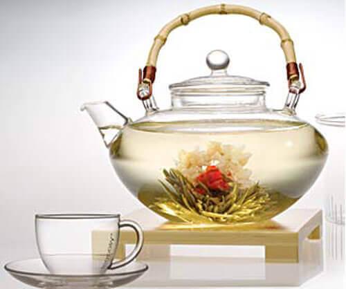 Vitt te för fettförbränning