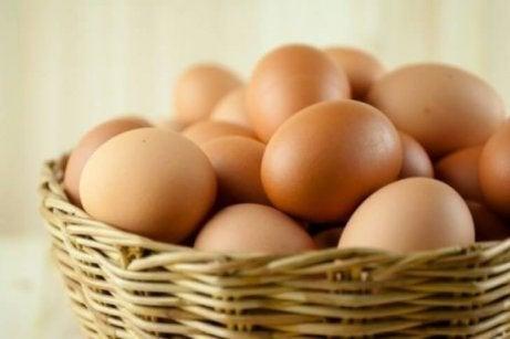 Ägg innehåller lecitin