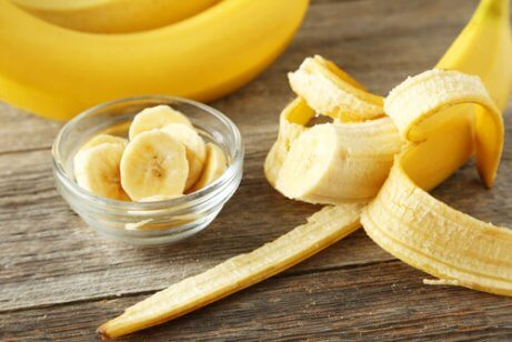 Bananer är vitaminrika