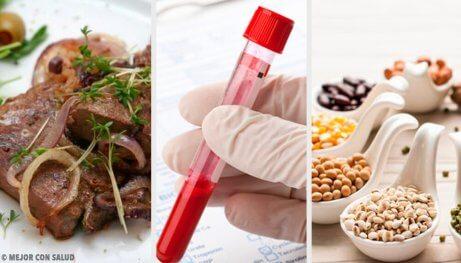 5 livsmedel för friskare blod och en lycklig kropp