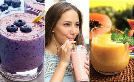 5 nyttiga frukostsmoothies du kan dricka varje dag