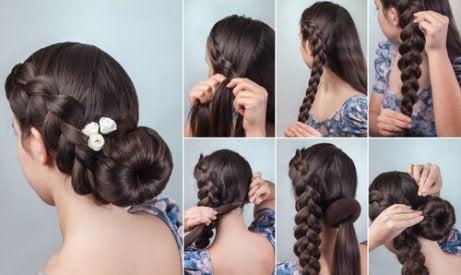 5 vackra hårstilar för en ledig och elegant look