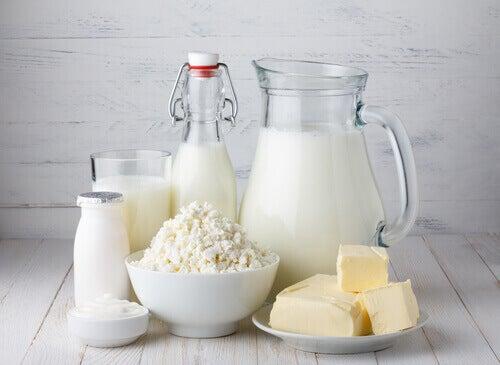 Blandade mjölkprodukter