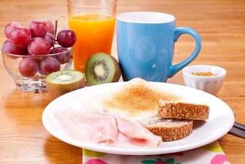 En god frukost är viktigt för hjärnan