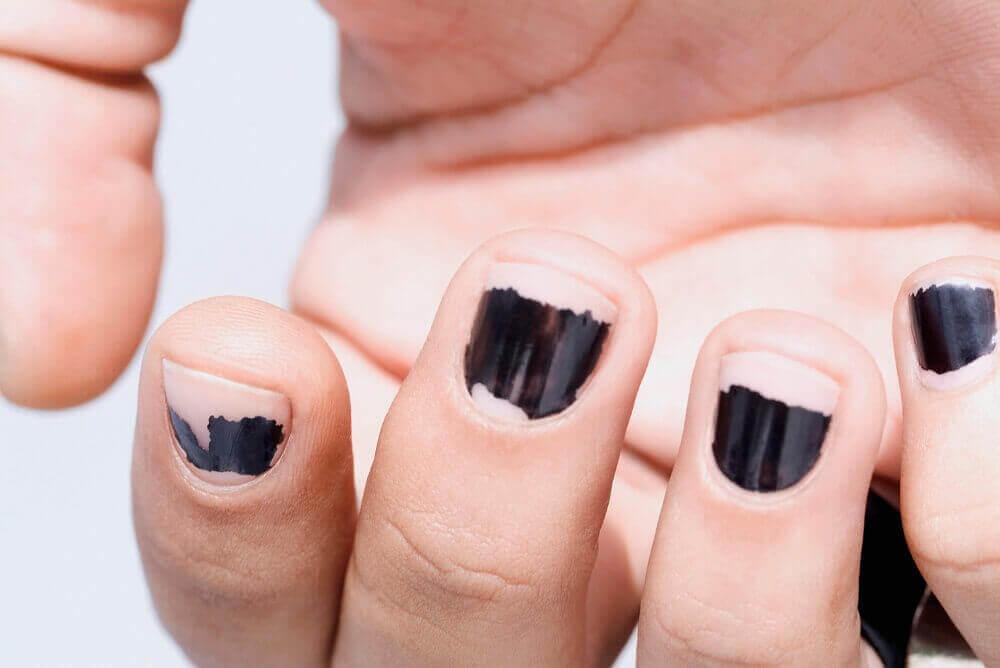 Flagnat nagellack